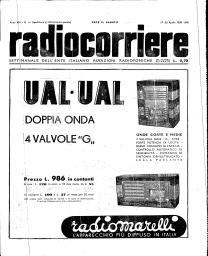 Anno 1938 Fascicolo n. 16