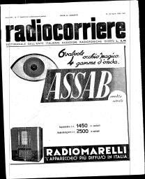 Anno 1938 Fascicolo n. 17
