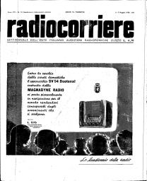 Anno 1938 Fascicolo n. 18