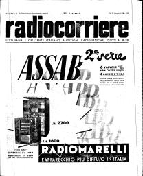 Anno 1938 Fascicolo n. 20