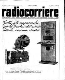 Anno 1938 Fascicolo n. 21