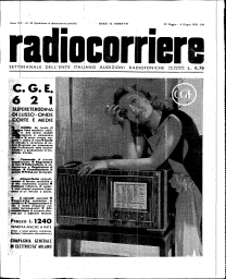 Anno 1938 Fascicolo n. 22