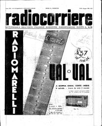 Anno 1938 Fascicolo n. 25