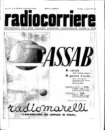 Anno 1938 Fascicolo n. 26