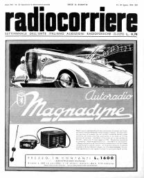 Anno 1938 Fascicolo n. 33