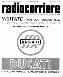Anno 1938 Fascicolo n. 36