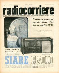 Anno 1939 Fascicolo n. 1
