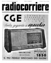 Anno 1939 Fascicolo n. 9
