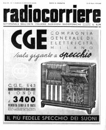 Anno 1939 Fascicolo n. 11