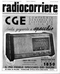Anno 1939 Fascicolo n. 15