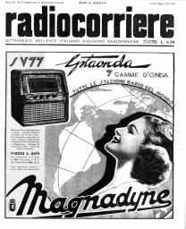 Anno 1939 Fascicolo n. 20