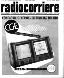 Anno 1939 Fascicolo n. 26