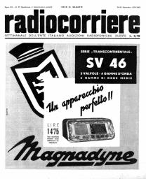 Anno 1939 Fascicolo n. 39