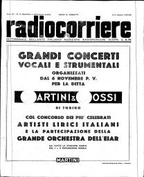 Anno 1939 Fascicolo n. 42