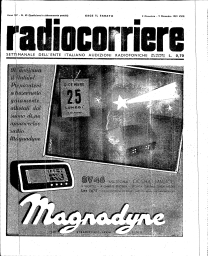 Anno 1939 Fascicolo n. 49