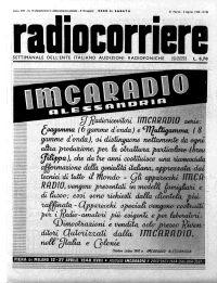 Anno 1940 Fascicolo n. 14
