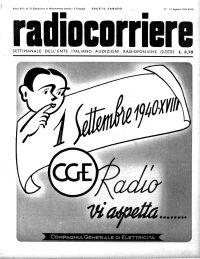 Anno 1940 Fascicolo n. 33