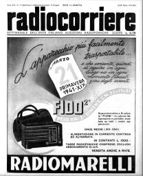 Anno 1941 Fascicolo n. 13