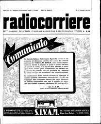 Anno 1943 Fascicolo n. 8
