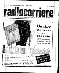 Anno 1943 Fascicolo n. 14