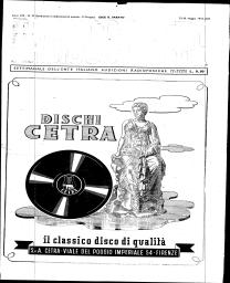 Anno 1943 Fascicolo n. 21