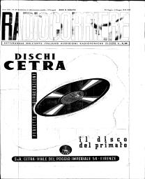 Anno 1943 Fascicolo n. 22