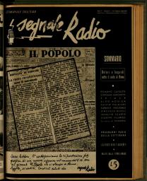 Anno 1945 Fascicolo n. 6