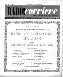 Anno 1946 Fascicolo n. 43