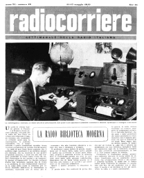 Anno 1947 Fascicolo n. 19