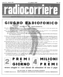 Anno 1947 Fascicolo n. 22