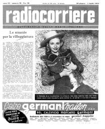 Anno 1947 Fascicolo n. 26