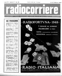 Anno 1948 Fascicolo n. 7