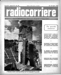 Anno 1949 Fascicolo n. 28