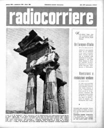 Anno 1952 Fascicolo n. 20