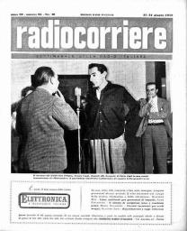 Anno 1952 Fascicolo n. 25