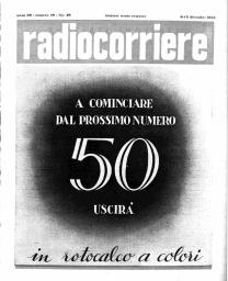 Anno 1953 Fascicolo n. 49