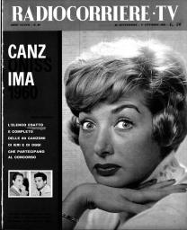 Anno 1960 Fascicolo n. 39
