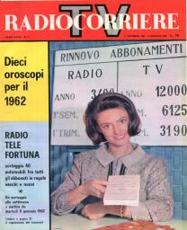 Anno 1962 Fascicolo n. 1