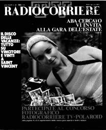 Anno 1971 Fascicolo n. 25