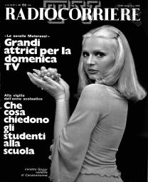 Anno 1972 Fascicolo n. 39