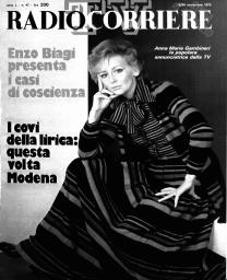 Anno 1973 Fascicolo n. 47