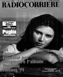 Anno 1974 Fascicolo n. 31